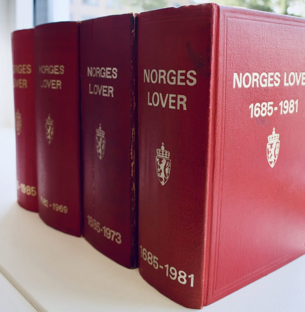 norges lover ny lov om rekonstruksjon