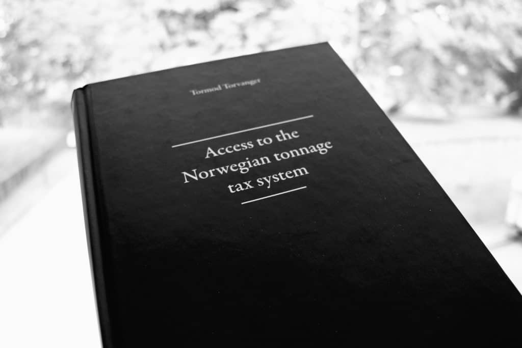 access to the norwegian tonnage tax system tormod torvanger